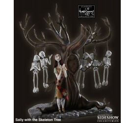 Nightmare Before Christmas Statue Sally with Skeleton Tree Otherworldly Ovation 36 cm