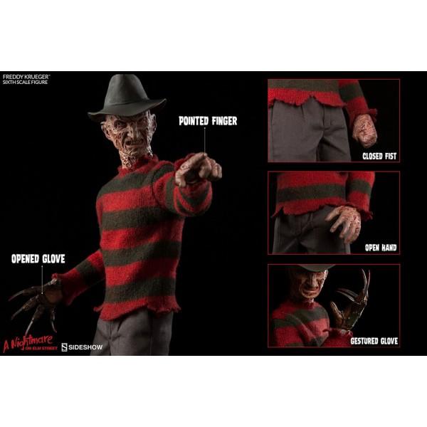 Nightmare On Elm Street 3 Dream Warriors Action Figure 1 6