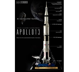 Otona No Chogokin Replica 1/144 Apollo 13 and Saturn V 76 cm
