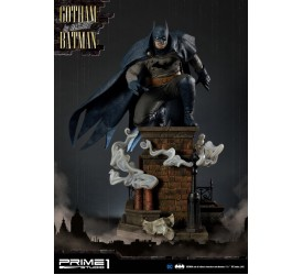 DC Comics Arkham Origins Gotham by Gaslight Batman Blue 1/5 Scale Statue 57 CM