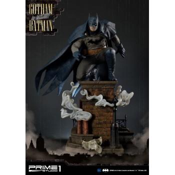 DC Comics Arkham Origins Gotham by Gaslight Batman Blue 1/5 Scale Statue 57 CM