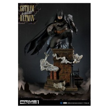 Batman Arkham Origins Statue 1/5 Gotham By Gaslight Batman Black Version 57 cm