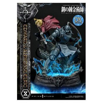 Fullmetal Alchemist Statue 1/6 Edward and Alphonse Elric Deluxe Version 56 cm