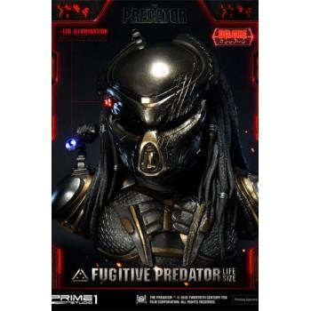 Predator 2018 Bust 1/1 Fugitive Predator Deluxe Ver. 76 cm