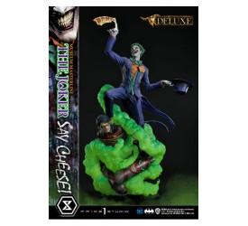 DC Comics Statue 1/3 The Joker Say Cheese Deluxe Version 99 cm