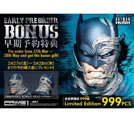DC Comics Batman Hush Deluxe Batcave Batman Statue Bonus Version 88 cm (Pre-order cut off on 26/05/2020)