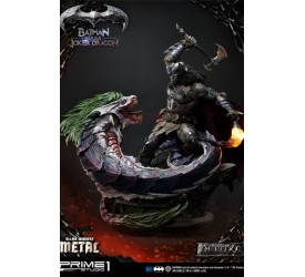Dark Nights: Metal Statue Batman Versus Joker Dragon Deluxe Version 87 cm
