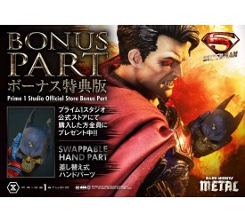DC Comics Statue 1/3 Superman Deluxe Bonus Version 88 cm