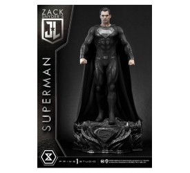 Justice League Statue Superman Black Suit Edition 84 cm