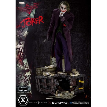 DC Comics The Dark Knight The Joker Bonus Version 1/3 Scale Statue 72 cm