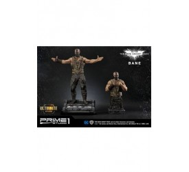 The Dark Knight Rises Statue & Bust 1/3 Bane Ultimate Edition Set