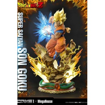 Dragon Ball Z Statue 1/4 Super Saiyan Son Goku 64 cm