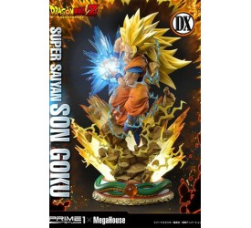 Dragon Ball Z Statue 1/4 Super Saiyan Son Goku Deluxe Version 64 cm