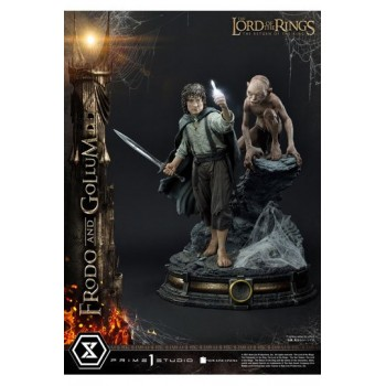 Lord of the Rings Statue 1/4 Frodo and Gollum Bonus Version 46 cm