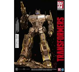Transformers: G1 Statue Optimus Prime Antique Gold 58 cm