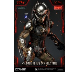 The Predator Deluxe Fugitive Predator 1:4 Scale Statue