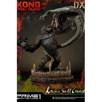 Kong Skull Island Statue Kong vs Skull Crawler Deluxe Version 80 cm