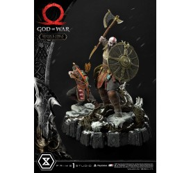 God of War Kratos and Atreus The Valkyrie Armor Set 1/4 Scale Statue 72 cm