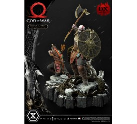 God of War: Kratos and Atreus The Valkyrie Armor Set 1/4 Scale Statue Deluxe Edition 72 cm
