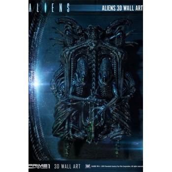 Aliens 3D Wall Art 50 CM