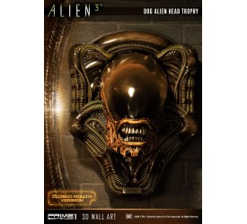 Alien 3 Dog Alien Head Trophy Closed Mouth Version Statue