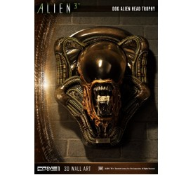 Alien 3: Dog Alien Head Trophy Open Mouth Version Statue
