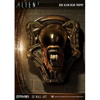 Alien 3: Dog Alien Head Trophy Open Mouth Version Statue