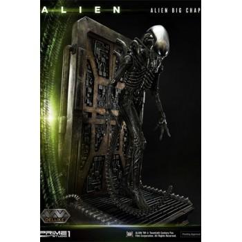 Alien Museum Art Statue / Wall Art Alien Big Chap Action Deluxe Version 88 cm