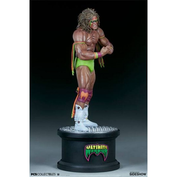 Wwe Statue 1 4 Ultimate Warrior 63 Cm