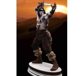 Conan the Barbarian Mixed Media Statue 1/3 Conan War Paint Version (Arnold Schwarzenegger) 74 cm