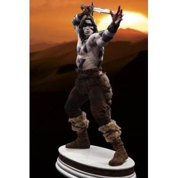 Conan the Barbarian Mixed Media Statue 1/3 Conan War Paint Version (Arnold Schwarzenegger) 74 cm