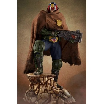 2000 AD Statue 1/3 Judge Dredd PCS Cursed Earth Exclusive 71 cm