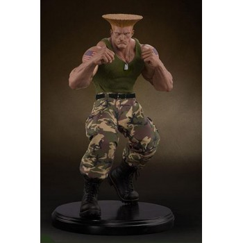 Street Fighter Mixed Media Statue 1/4 Guile Retail Version 44 cm