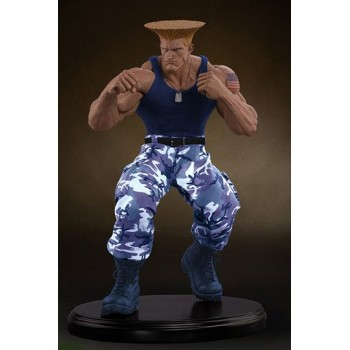 Street Fighter Mixed Media Statue 1/4 Guile Player 2 Exclusive 44 cm