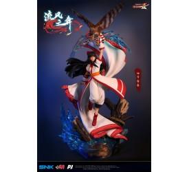 Samurai Shodown Haohmaru Jigokuhen 1/4 Scale Nakoruru Dancing of the wind Statue