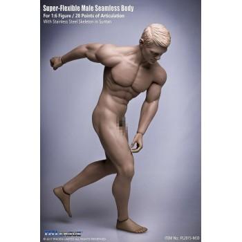 TBLeague(PHICEN) Super Flexible Seamless Stainless Male Muscular Body