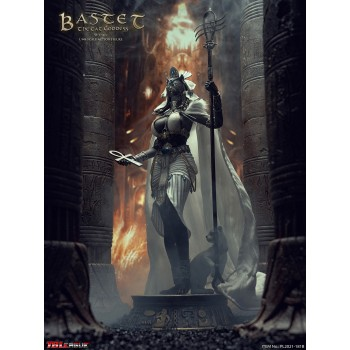Bastet The Cat Goddess (White) 1/6 Scale Figure