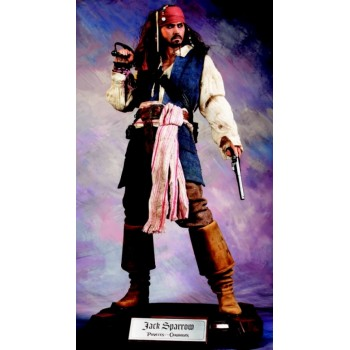 POTC Jack Sparrow Cinemaquette Replica Scale 1/3
