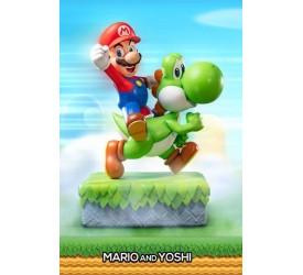 Super Mario Statue Mario and Yoshi 48 cm