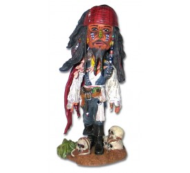Pirates of the Caribbean 2 Bobble-Head Cannibal Jack HeadKnocker 16 cm