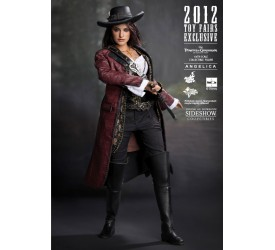 Pirates of the Caribbean 4 Movie Masterpiece Action Figure 1/6 Angelica SDCC 2012 Exclusive 30 cm