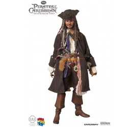 Pirates of the Caribbean 4 UU Action Figure with Sound Jack Sparrow 30 cm