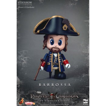 Pirates of the Caribbean On Stranger Tides Cosbaby S Series Barbossa 8 cm