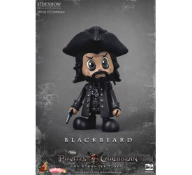 Pirates of the Caribbean On Stranger Tides Cosbaby S Series Blackbeard 8 cm