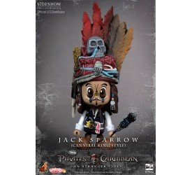 Pirates of the Caribbean On Stranger Tides Cosbaby S Series Cannibal Jack Sparrow 8 cm