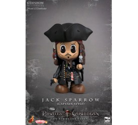 Pirates of the Caribbean On Stranger Tides Cosbaby S Series Captain Jack Sparrow 8 cm