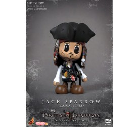 Pirates of the Caribbean On Stranger Tides Cosbaby S Series Casual Jack Sparrow 8cm