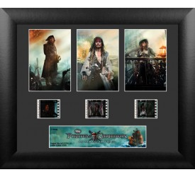 Pirates of the Caribbean On Stranger Tides Framed Film Cell 3 Cell