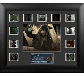 Pirates of the Caribbean On Stranger Tides Framed Film Cell Captain