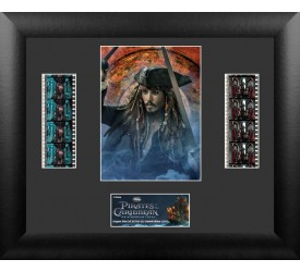 Pirates of the Caribbean On Stranger Tides Framed Film Cell Jack Sparrow